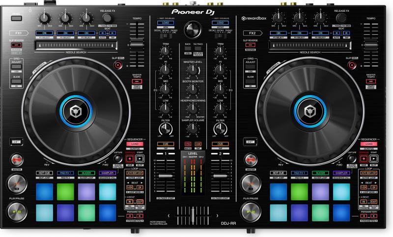 DDJ-RR Потративный двухканальный DJ-контроллер со звуковой картой / DJ контроллеры, Музыкальный Мастер