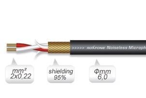 Микрофонный кабель MC002 / Микрофонный/симетричный кабель, Музыкальный Мастер