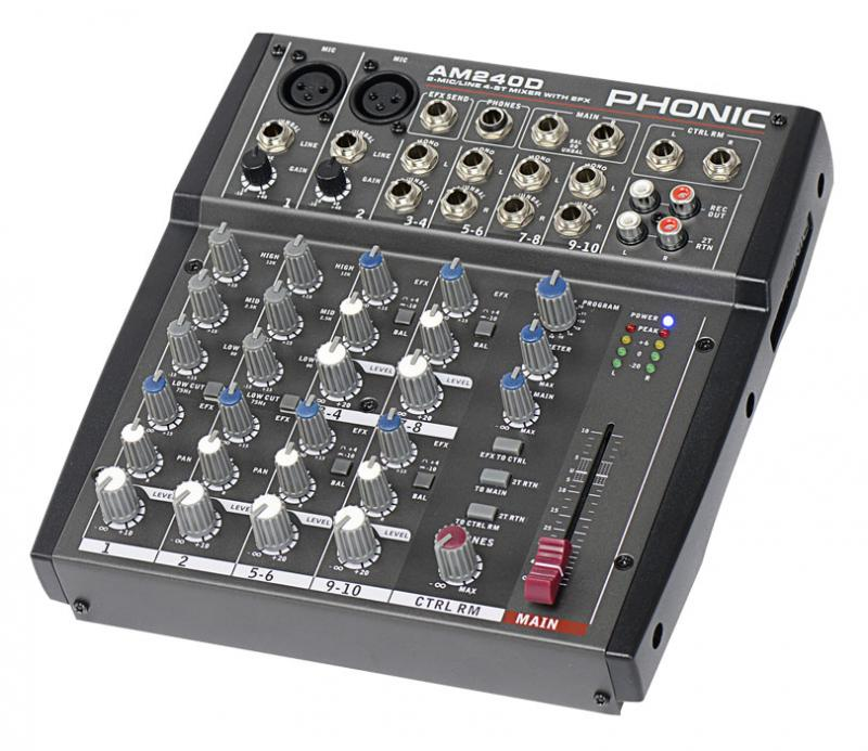 AM 240 D / Аналоговые микшерные пульты, Музыкальный Мастер