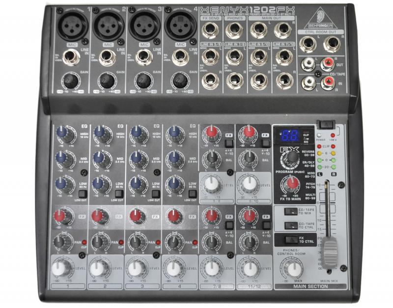 XENYX1202FX / Аналоговые микшерные пульты, Музыкальный Мастер