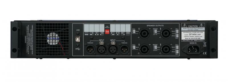 DF2008 DSP / Усилители мощности, Музыкальный Мастер