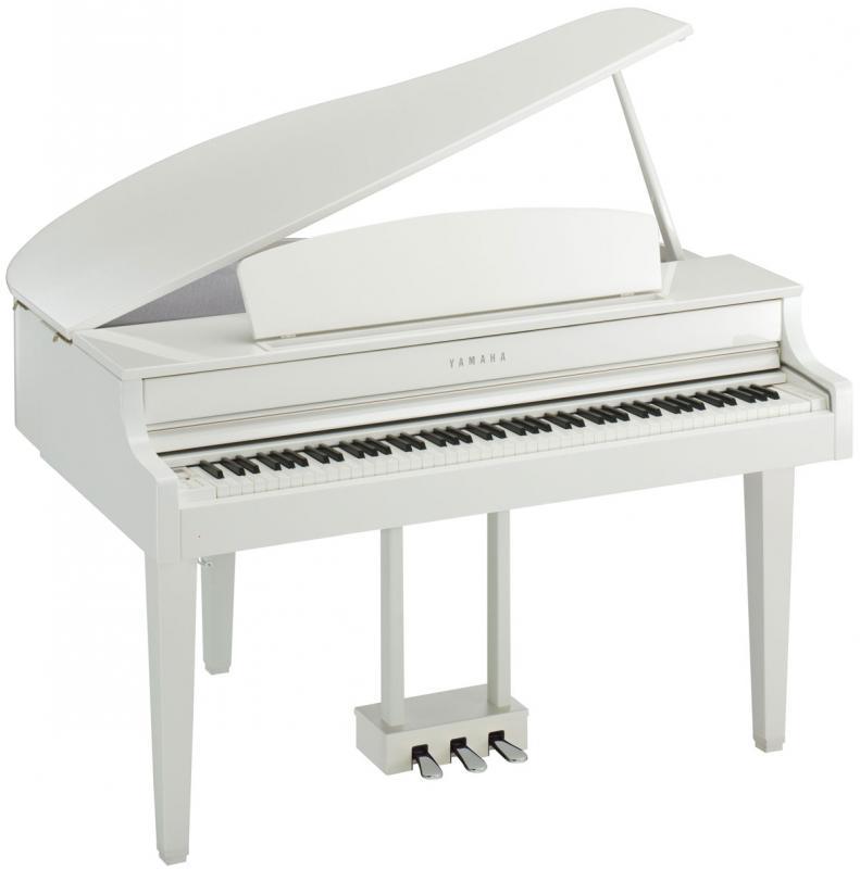 Clavinova CLP-665 GP PWH / Цифровые фортепиано, Музыкальный Мастер