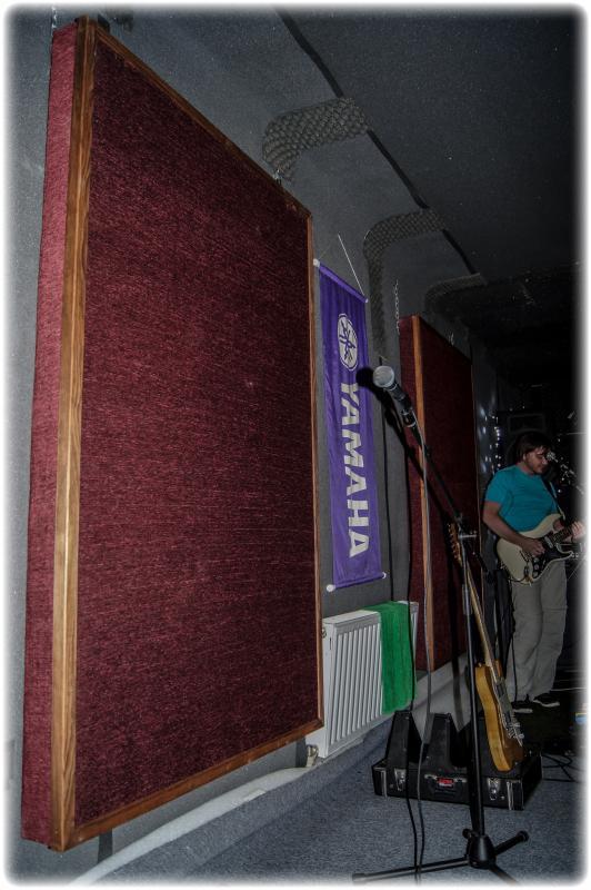 Acu Panel / Звукоизоляционные материалы, Музыкальный Мастер