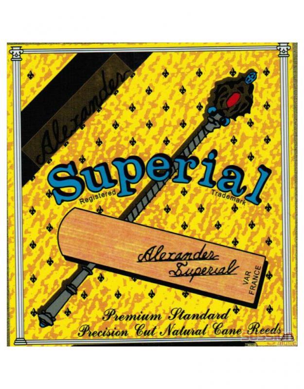 SUPERIAL Alto SAX 2.5 / Трости, Музыкальный Мастер