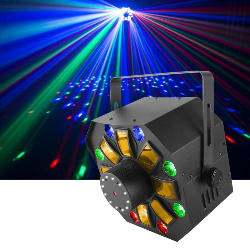 SWARM WASH FX / Световые эффекты для дискотек и клубов, Музыкальный Мастер