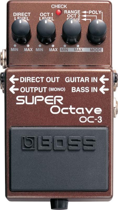 OC-3 / Гитарные педали эффетов, Музыкальный Мастер