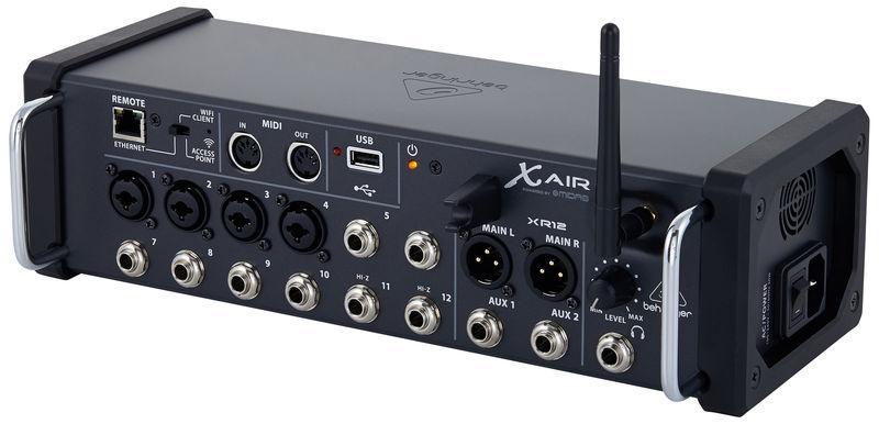 X Air XR12 / Цифровые микшерные пульты, Музыкальный Мастер