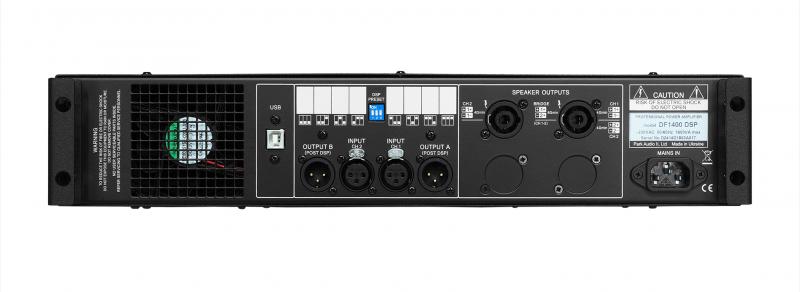 DF1400 DSP / Усилители мощности, Музыкальный Мастер