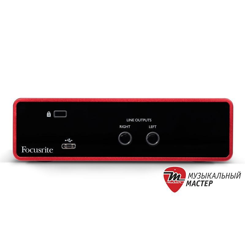 Scarlett Solo 3rd Gen USB звуковая карта / Звуковые карты, Музыкальный Мастер