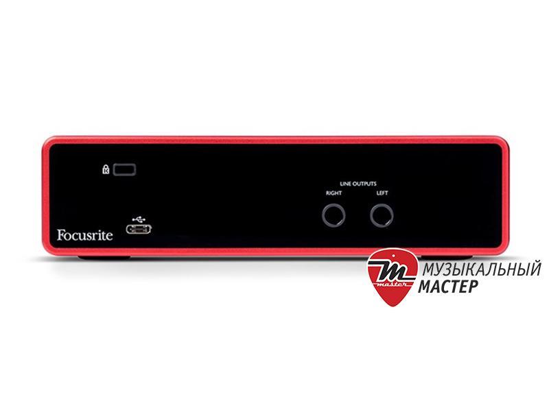 Scarlett 2i2 3rt Gen USB звуковая карта / Звуковые карты, Музыкальный Мастер