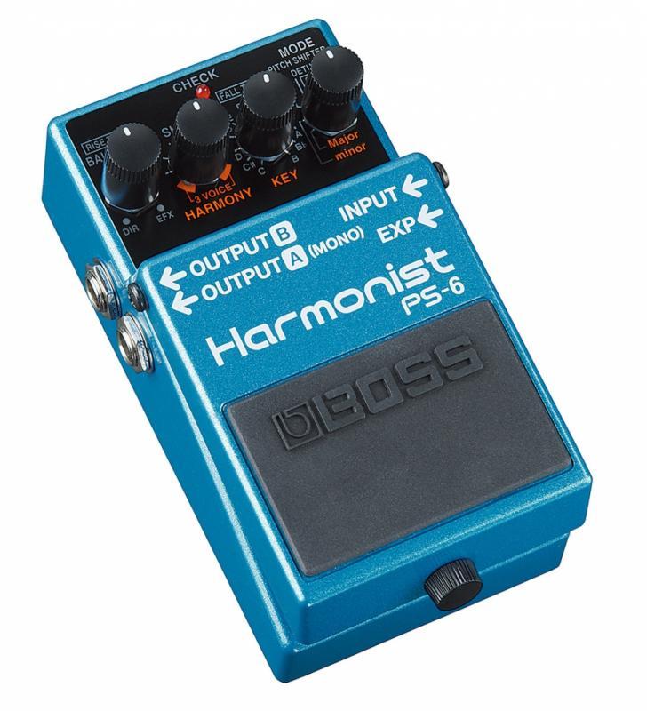 PS-6 Harmonist / Гитарные педали эффетов, Музыкальный Мастер