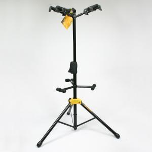 GS432B Plus тройная  стойка для акустической гитары с автозахватом / Гитарные стойки, Музыкальный Мастер