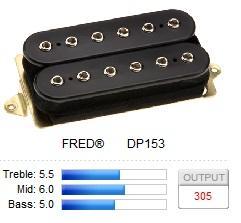 DP153FBK FRED (F-SPACED) / Звукосниматели, Музыкальный Мастер