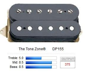 DP155FBK THE TONE ZONE (F-SPACED)