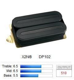 DP102BK X2N / Звукосниматели, Музыкальный Мастер