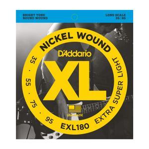 EXL180 XL EXTRA SUPER LIGHT 35-95 / Струны Для бас гитар, Музыкальный Мастер