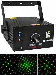 LS-AF01RG лазер с большим количеством анимации / Лазеры заливочные, Музыкальный Мастер