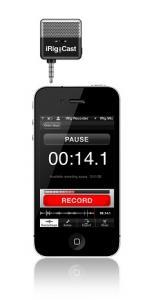 iRIG MIC CAST Ультра-компактный микрофон для iPhone, iPod touch, iPad, Android / Вокальные и речевые микрофоны, Музыкальный Мастер