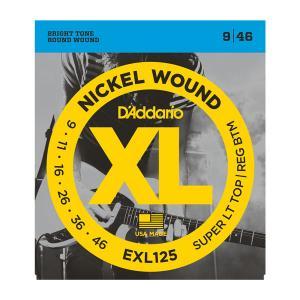 EXL125 XL SUPER TOP / REGULAR BOTTOM (09-46) / Струны Для электро гитар, Музыкальный Мастер