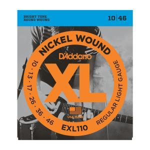 EXL110 XL REGULAR LIGHT (10-46) / Струны Для электро гитар, Музыкальный Мастер