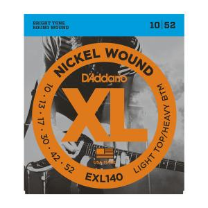 EXL140 XL LIGHT TOP / HEAVY BOTTOM (10-52) / Струны Для электро гитар, Музыкальный Мастер