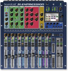 SiExpression 1 цифровой  микшерный пульт / Цифровые микшерные пульты, Музыкальный Мастер