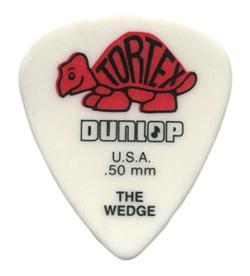 424P.50 TORTEX WEDGE PLAYER'S PACK 0.50 / Медиаторы, Музыкальный Мастер