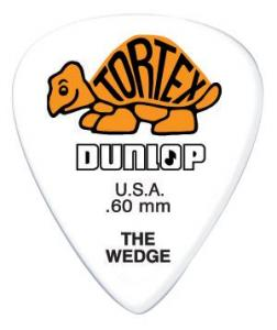 424P.60 TORTEX WEDGE PLAYER'S PACK 0.60 / Медиаторы, Музыкальный Мастер