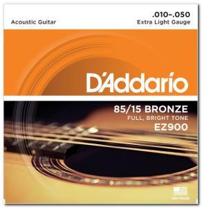 EZ900 BRONZE EXTRA LIGHT 10-50 / Струны Для акустических гитар, Музыкальный Мастер