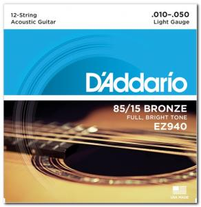 EZ940 BRONZE MEDIUM 12 STRINGS 10-50