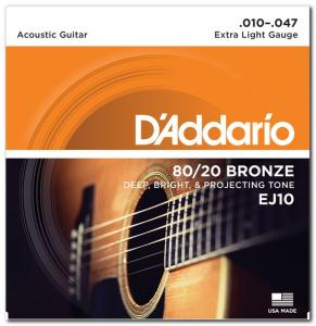 EJ10 80/20 BRONZE EXTRA LIGHT 10-47