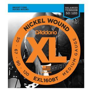 EXL160BT XL BALANCED TENSION BASS MEDIUM 50-120 / Струны Для бас гитар, Музыкальный Мастер