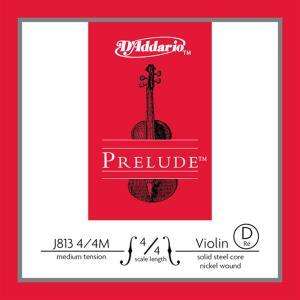 J813 4/4M Prelude D 4/4M / Струны для смычковых, Музыкальный Мастер