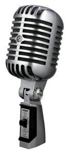 55SHSERIESII динамический вокальный с выключателем, в классическом стиле / Вокальные и речевые микрофоны, Музыкальный Мастер