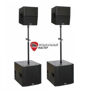 DUPLEX SET Активный комплект / Акустические системы (Колонки), Музыкальный Мастер