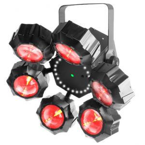 BEAMER 6 FX несколько световых эффектов в одном приборе