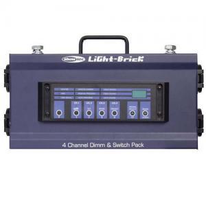 Lightbrick 4Ch Dimmingpack DMX Output 4x5A / Диммеры, Музыкальный Мастер
