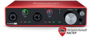 Scarlett 4i4 3rd Gen USB звуковая карта / Звуковые карты, Музыкальный Мастер