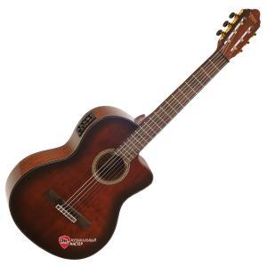 VC564CEBSB Классическая гитара с вырезом электроакустическая 4/4 / Классические гитары, Музыкальный Мастер